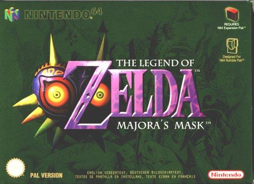 la leyenda de Majora's Mask
