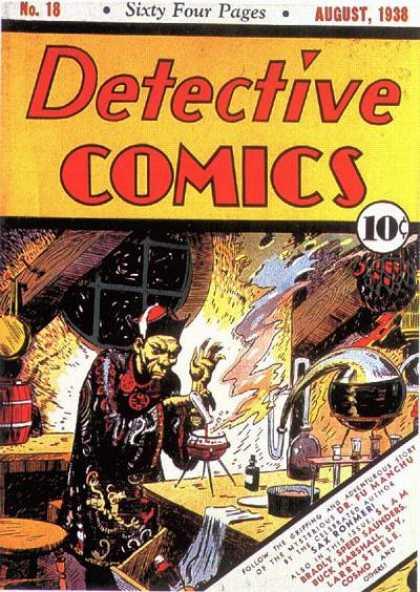 fumanchu detective comics