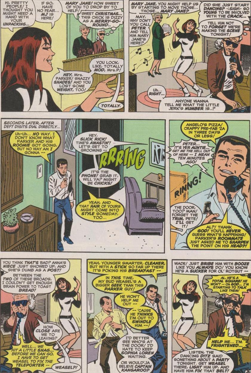 joe kelly deadpool spider-man