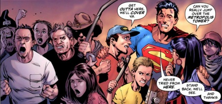 Action Comics Grant Morrison Superman of the People