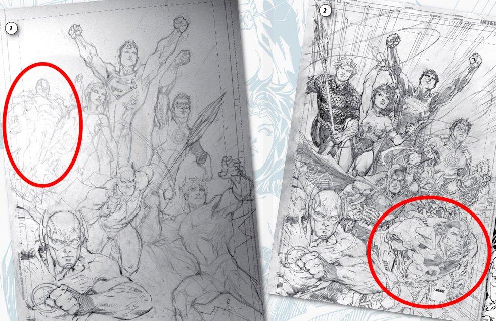 Las tres versiones de la Liga de la Justicia de Jim Lee – BRAINSTOMPING