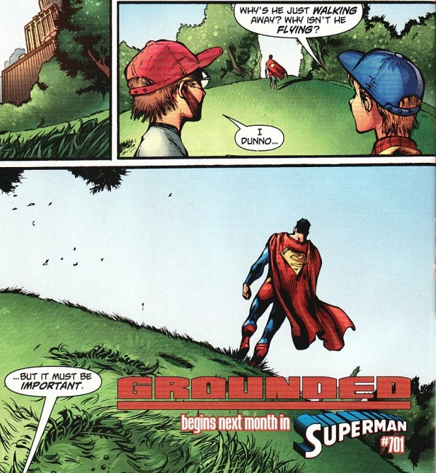 superman 700 grounded