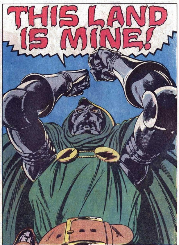 Doom this land is mine Fantastic four 247