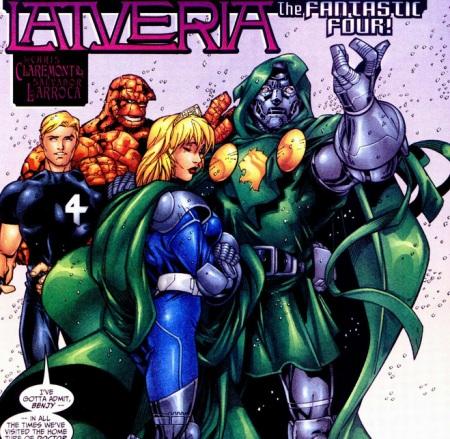Latveria Doom Richards Fantastic four 30