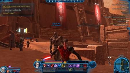 Star Wars Old Republic Sith companion