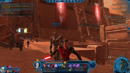 Star Wars Old Republic Sith companion