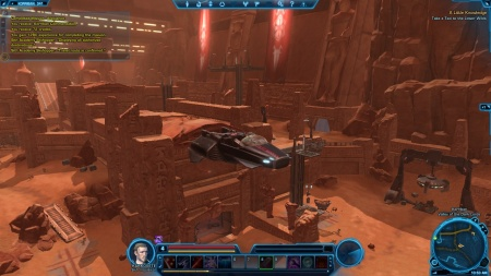 Star Wars Old Republic travelling