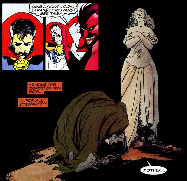 Triumph and Torment Doctor Strange Doom Mignola
