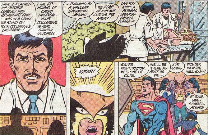 Justice League 222 katar pocho