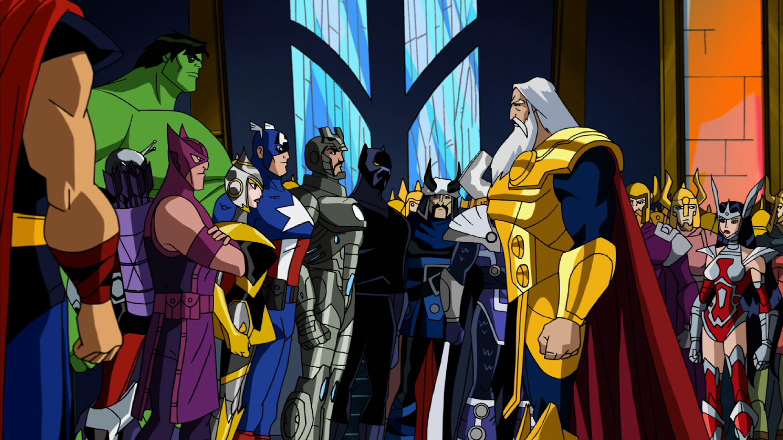 """Cancelan """"Avengers:Earth Mightiest Heroes"""": Didioteces a la Marvel"""