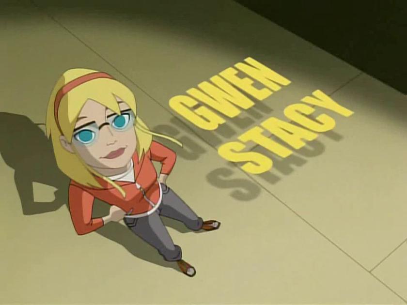 Spectacular Spider-man Gwen Stacy