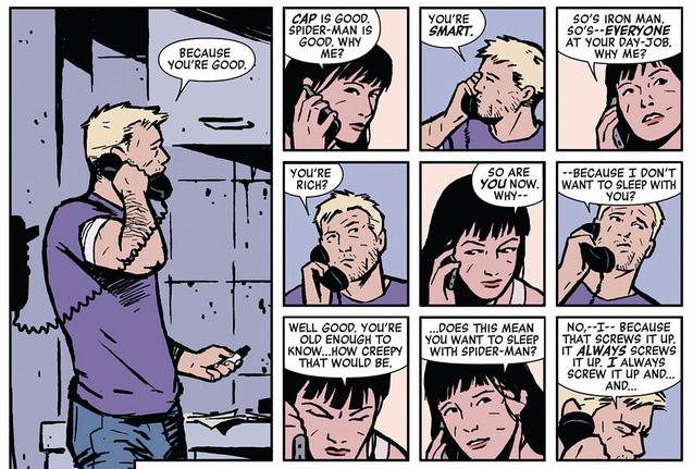 Hawkeye 2 panels