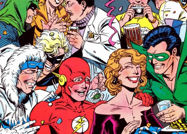 Wally West ser flash es una fiesta