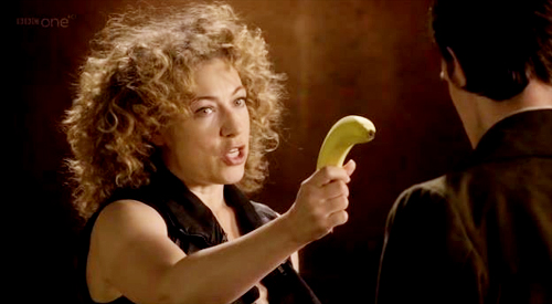 DoctorWho-riversong-banana