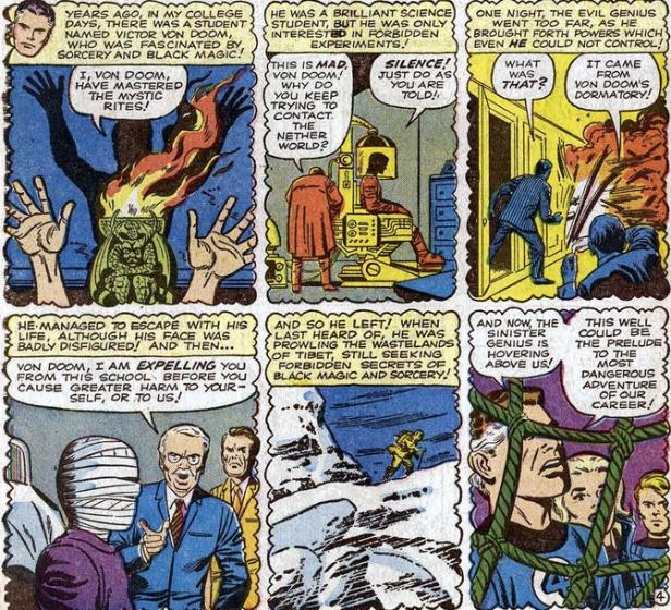 doctor doom doctor muerte fantastic four 5 origin of doctor doom