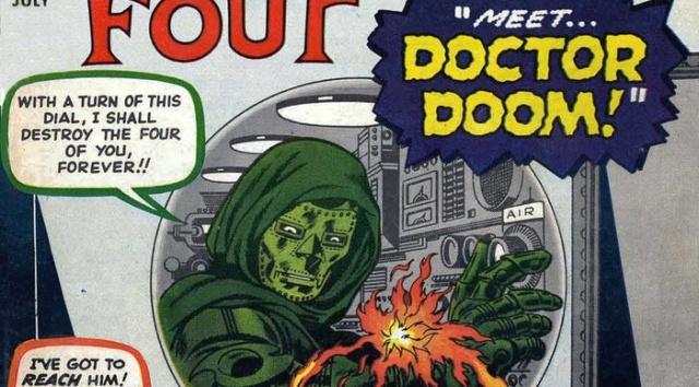 doctor doom doctor muerte fantastic four 5