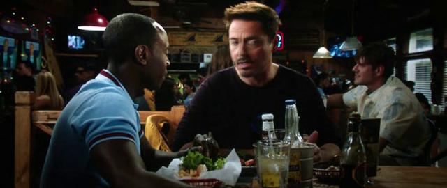 Iron Man 3 Rhodey y Tony