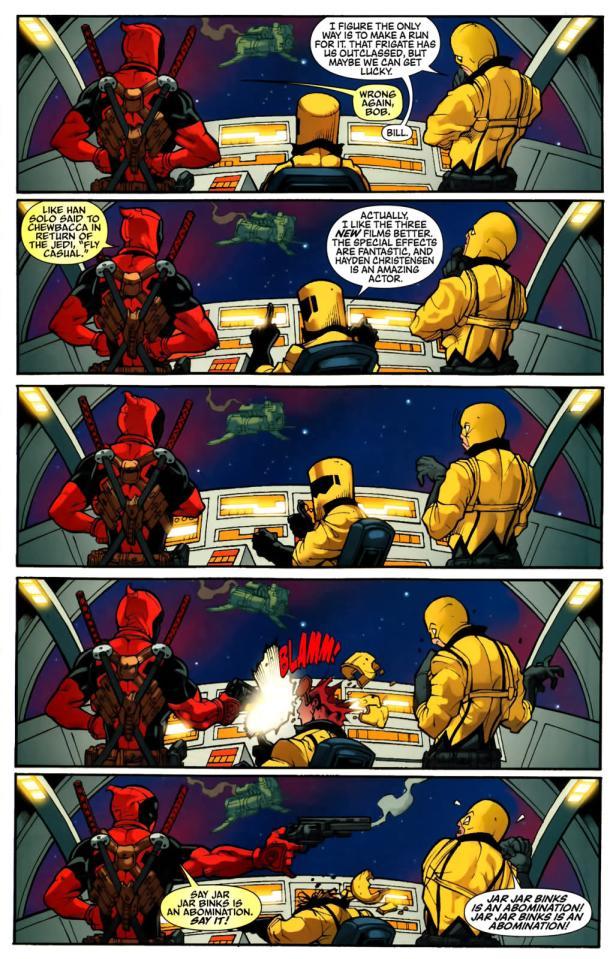 Deadpool Star Wars Gischler