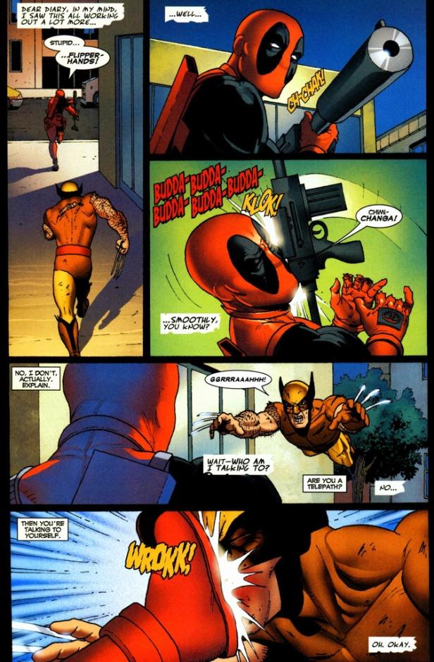 Deadpool voices