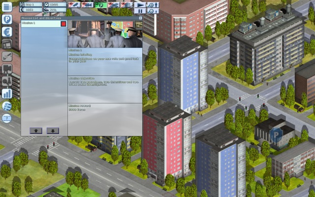 Police Simulator 2 interfaz