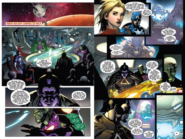 Annihilus galactic council infinity