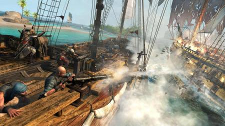 Assassins Creed IV  batalla naval