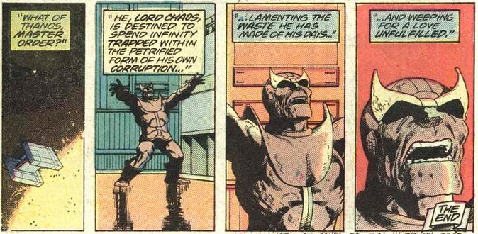 Thanos petrified