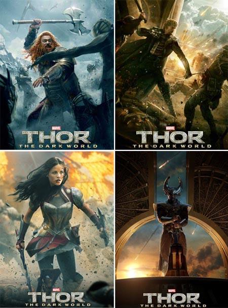 thor-the-dark-world-poster-volstagg-fandral-heimdall-sif