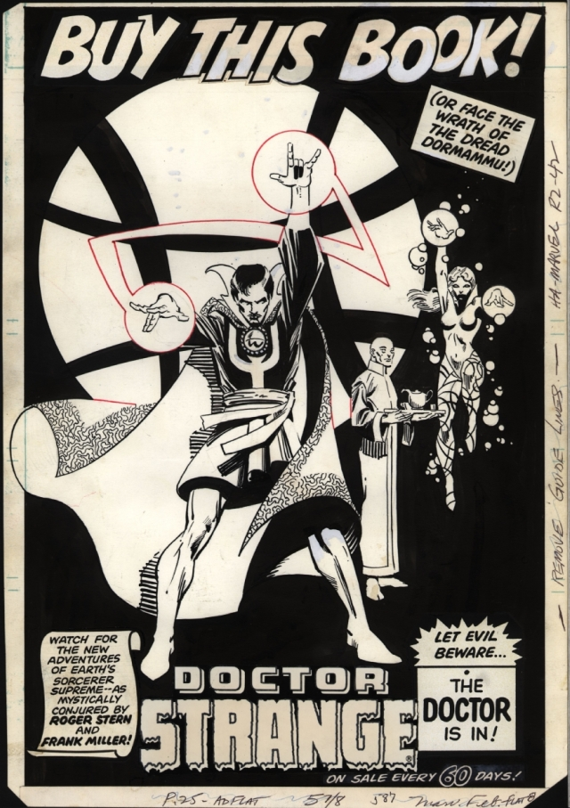 Doctor Strange Miller Doctor Extraño