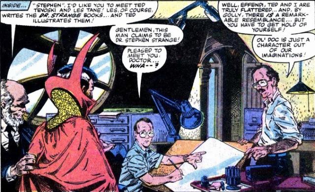 Doctor Strange Stan Lee Steve Ditko