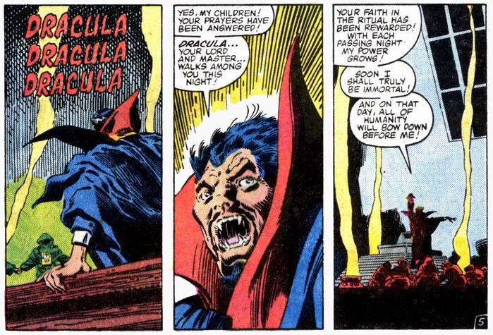 Doctor Strange VS Dracula rebirth