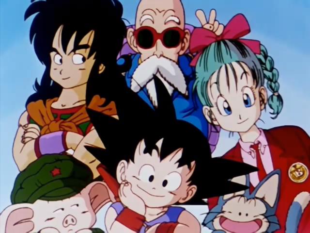 Dragon Ball Roster Son Goku Yamcha Puar Roshi Bulma Oolong