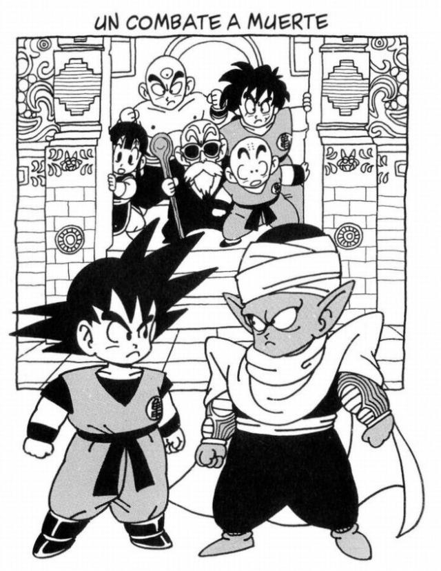 Dragon Ball Son Goku vs Picolo