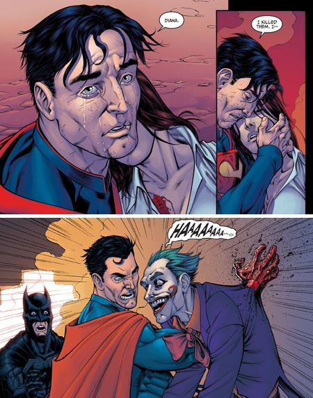Injustice-Gods-Among-Us-dc-comics-tom-taylor -superman-kills-joker