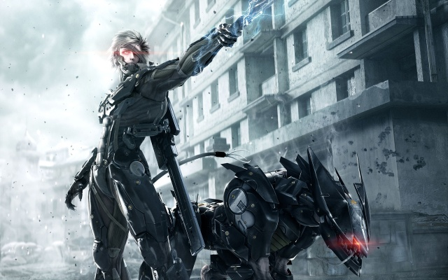 METAL GEAR RISING REVENGEANCE Perro Shadow Dancer Strider