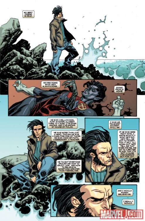 Wolverine Weapon X 16 mouning Nightcrawler luto Rondador Nocturno Lobezno