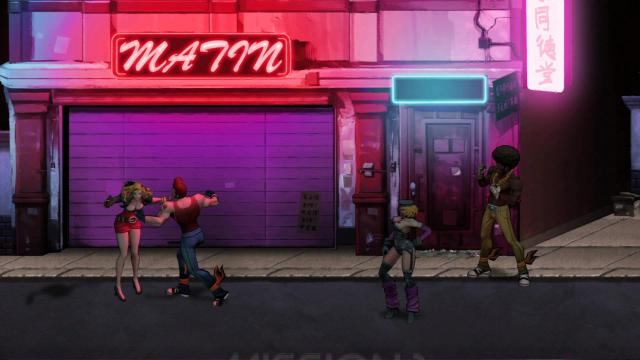 Double Dragon Neon PUNCH