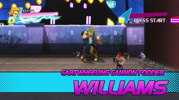 Double Dragon Neon Williams
