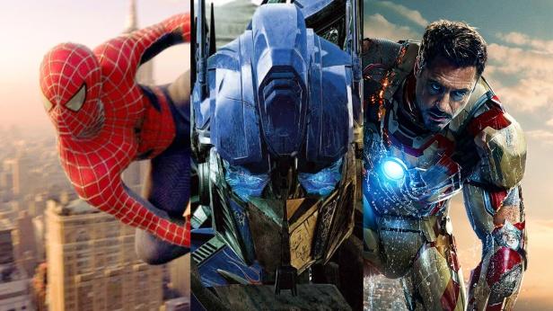 La Fox Sabe Iron Man Transformers Spider-man
