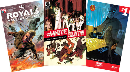 the-royals-The-White-Suits-frank-j-barbiere-toby-cypress-winter-soldier.bitter-march-remender-vertigo-dark-horse-marvel