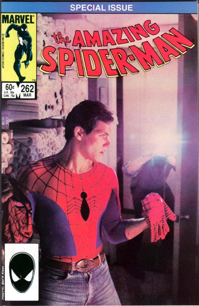 Amazing Spider-man 262 Scott Leva