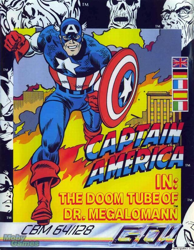 Captain America The Doom Tube of Doctor Megalomann