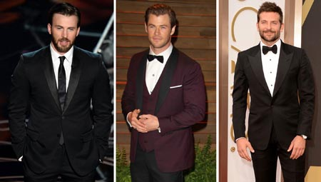 chris-hemsworth-chris-evans-bradley-cooper-oscars-2014-avengers-guardians-galaxy-thor-captain-america-rocket-racoon