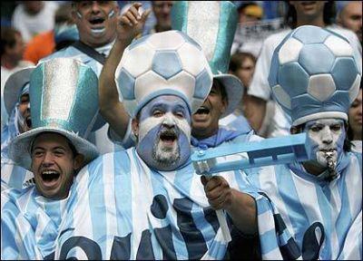 Hinchas Argentina