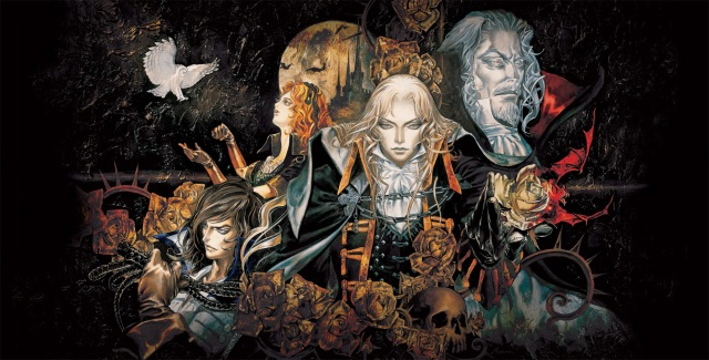 Symphony of the night Castlevania Kojima
