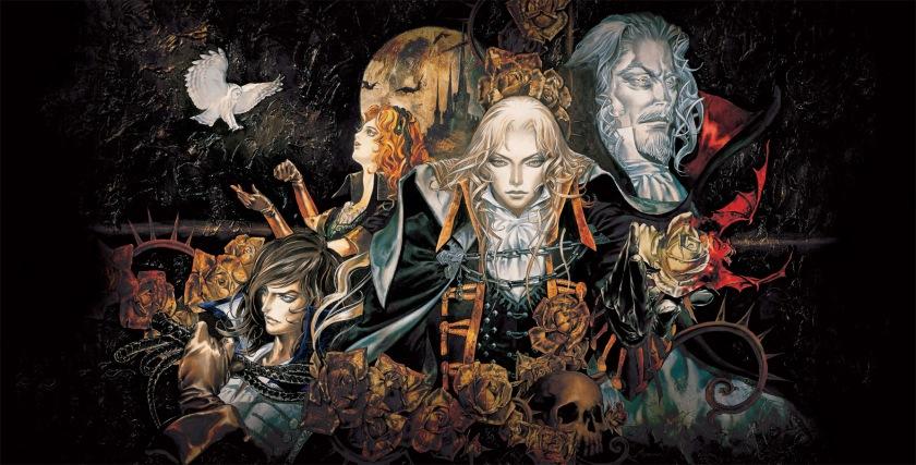Symphony of the night Castlevania Kojima