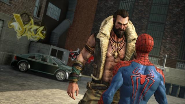 Amazing Spider-Man 2 game Kraven