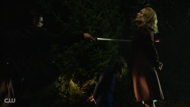 Arrow moira death muerte