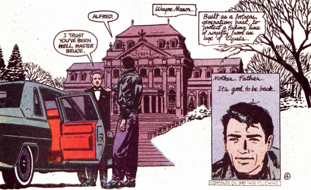 Batman Year One Bruce Wayne Manor