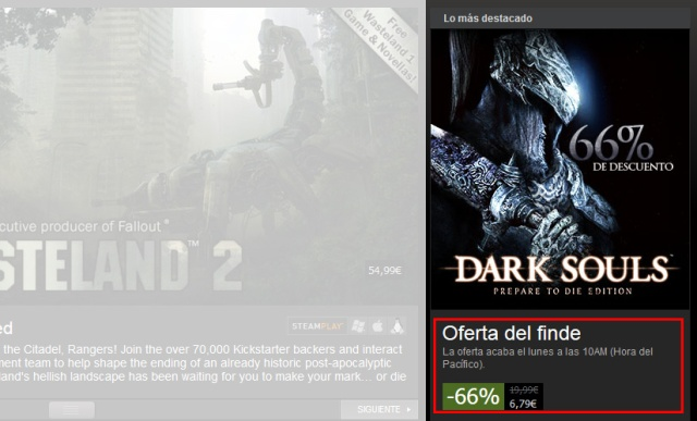 Dark Souls de oferta